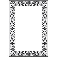 KaiserCraft Decorative Frame Embossing Folder 4