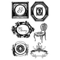 Prima Marketing Stay Classy Cling Stamps - Debutante
