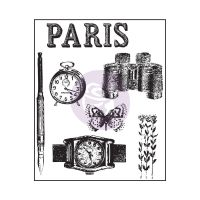 Prima Marketing Paris Clear Stamps - The Archivist