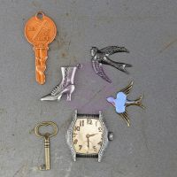 Prima Marketing Timeless Memories - Metal Trinkets - Remembrance