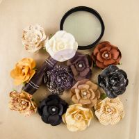 Prima Marketing Ledger Mulberry Paper Roses - The Archivist