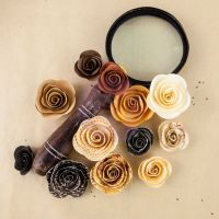 Prima Marketing Specimen  Mulberry Paper Roses- The Archivist