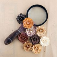 Prima Marketing Posterity  Mulberry Paper Roses - The Archivist