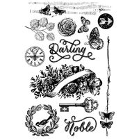 Prima Marketing Cling Stamp - Royal Menagerie