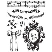 Prima Marketing Clear Stamps 1 - A Victorian Christmas