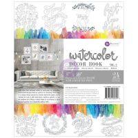 Prima Marketing Prima Watercolor Coloring Book 8