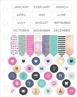 Prima Marketing My Prima Planner Embellishments - Cardstock Stickers