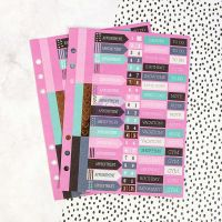 Prima Marketing My Prima Planner Embellishments - Mini Stickers Set 1