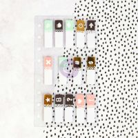 Prima Marketing My Prima Planner Embellishments - Clear Tabs