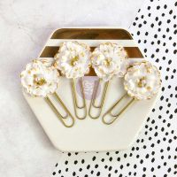 Prima Marketing My Prima Planner Flowers - Gold Nougat