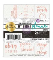 Prima Marketing My Prima Planner Embelishments - Journaling Cards - Keep Going