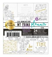 Prima Marketing My Prima Planner Embelishments - Coloring Journaling Cards - Be Free