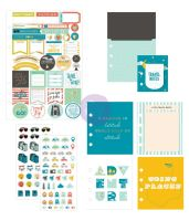 Prima Marketing My Prima Planner Goodie Pack- Adventure and travels