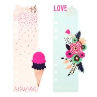 Prima Marketing My Prima Planner Embellishments - Good Vibes - Bookmark Divider