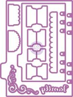 Prima Marketing My Prima Planner Metal Dies - Shapes 2