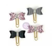 Prima Marketing My Prima Planner Clips - Silver Violet