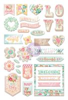 Prima Marketing Heaven Sent 2 - Puffy Stickers