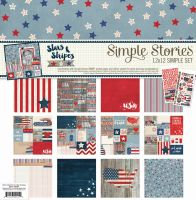 Simple Stories Stars & Stripes Simple Set Collection Kit
