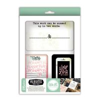 We R Memory Keepers Love Notes - Albums Made Easy Card Set