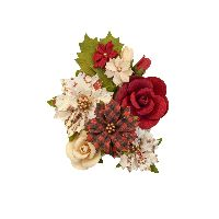 Prima Marketing Christmas In The Country Flowers - Christmas Song