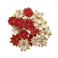 Prima Marketing Christmas In The Country Flowers - Kris Kringle