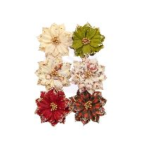 Prima Marketing Christmas In The Country Flowers - Warm Mittens