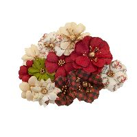 Prima Marketing Christmas In The Country Flowers - St. Nick