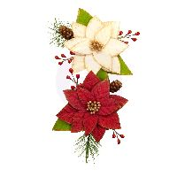 Prima Marketing Christmas In The Country Flowers - Sleigh Ride