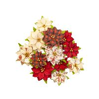 Prima Marketing Christmas In The Country Flowers - Sugarplum