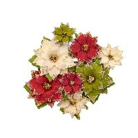 Prima Marketing Christmas In The Country Flowers - Tidings