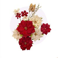 Prima Marketing Christmas In The Country Flowers - Joyful
