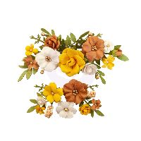 Prima Marketing Autumn Sunset Flowers - Falling Leaves