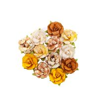 Prima Marketing Autumn Sunset Flowers - Harvest Moon