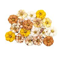 Prima Marketing Autumn Sunset Flowers - Pumpkin Spice