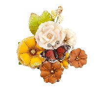 Prima Marketing Autumn Sunset Flowers - Gourds & Pumpkins