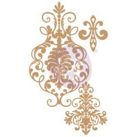Prima Marketing Laser Chipboard Diecut Shapes - Elegant Damask