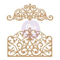 Prima Marketing Laser Chipboard Diecut Shapes - Flourish Gate