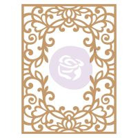 Prima Marketing Laser Chipboard Diecut Shapes - Vine Frame