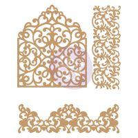 Prima Marketing Laser Chipboard Diecut Shapes - In The Garden