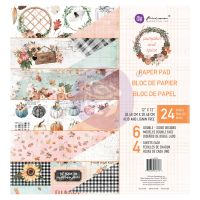 Prima Marketing Pumpkin & Spice Collection 12x12 Paper Pad