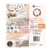 Prima Marketing Pumpkin & Spice Collection 6x6 Paper Pad