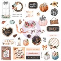 Prima Marketing Pumpkin & Spice Collection Ephemera 2
