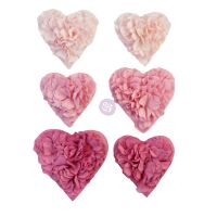 Prima Marketing Prima Flowers With Love Collection - All The Hearts