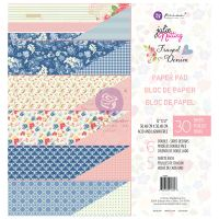 Prima Marketing Julie Nutting Frayed Denim Collection 12x12 Paper Pad