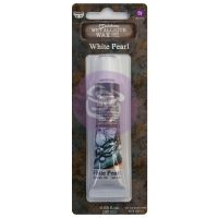 Prima Marketing Art Alchemy - Metallique Wax - White Pearl