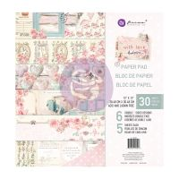 Prima Marketing With Love Collection 12x12 Paper Pad