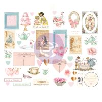 Prima Marketing With Love Collection Chipboards