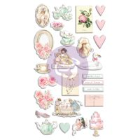 Prima Marketing With Love Collection Puffy Stickers