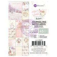 Prima Marketing Sugar Cookie Christmas Collection 3X4 Journaling Cards