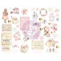 Prima Marketing Sugar Cookie Christmas Collection Chipboards